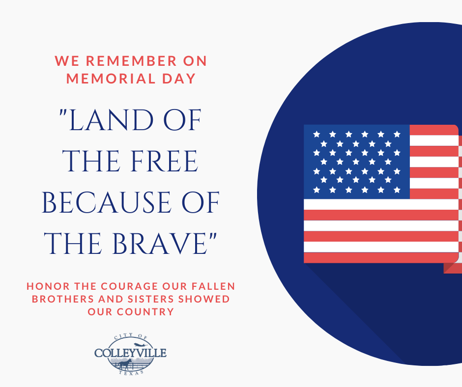A Memorial Day Message from Mayor Newton